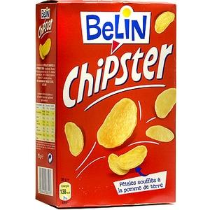 Belin chipster salé lu 75g