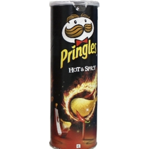 Pringles hot spicy 165g