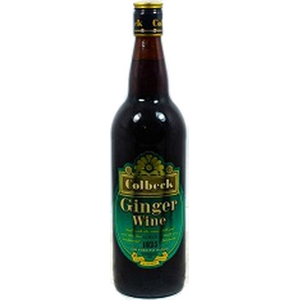 Colbeck ginger wine 75cl