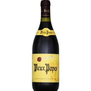 Vin rouge vieux papes 75cl