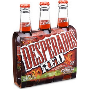 Bière despérado, red guarana blle 3x33cl 5.9%