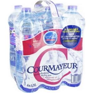 Eau courmayeur 6x1l50