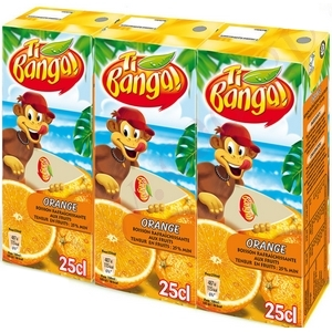 Banga jus d'orange 3x20cl