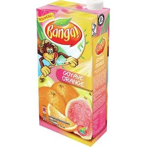Banga jus de goyave/orange 2l