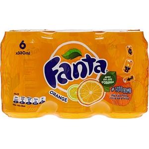 Fanta orange 6x33cl