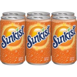Sunkist orange 6x33cl