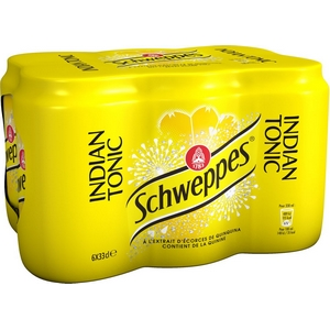 Schweppes tonic 6x33cl