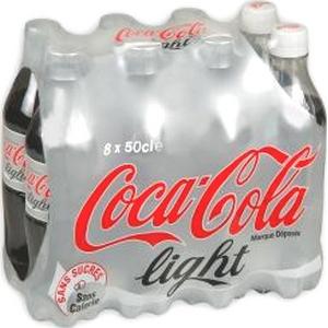 Coca-cola light 8x50cl