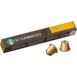 Starbucks café Nespresso Blonde Espresso Roast 10 Capsules