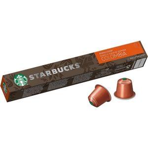 Starbucks café Nespresso single-Origin Colombia 10 capsules