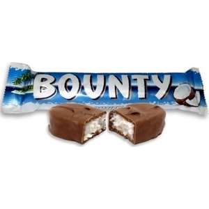 Bounty lait barre 57g