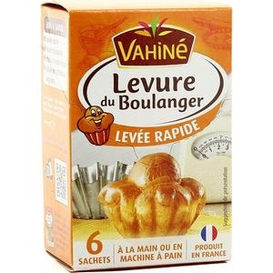 Vahiné levure du boulanger levée rapide 27,6g