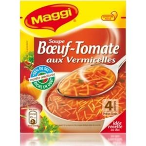 Maggi bouillon bœuf tomates vermicelles 60g