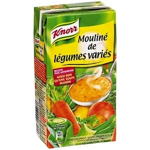 Knorr mouliné de légumes variés 1l
