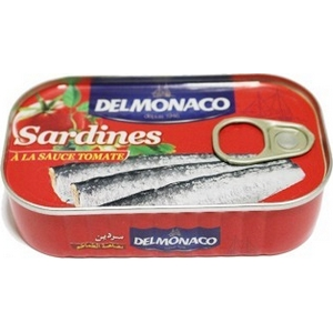 Sardine tomate delmonaco 90g