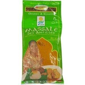 Gwad'épices Massalé pâte à colombo 120g