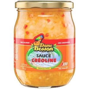 Dame Besson sauce créoline 57cl