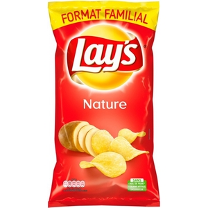 Lays chips nature format familiale 300g
