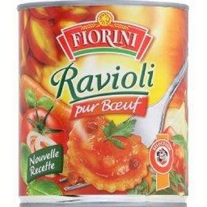 Fiorini ravioli pur bœuf 4/4 800g
