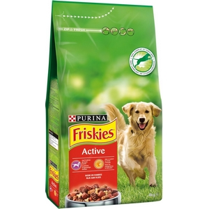 Friskies croquettes chien active 4kg