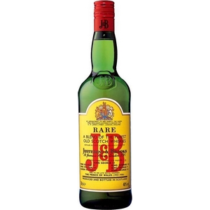 Whisky J and B 40° 70cl