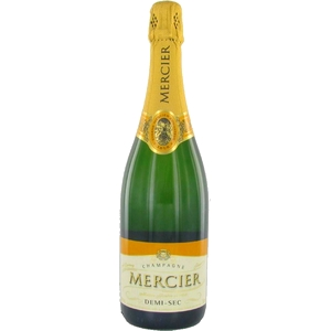 Champagne mercier 1/2 sec 75cl
