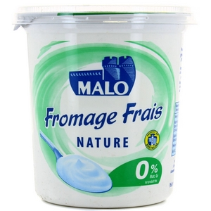 Saint-malo fromage nature 0% mg 1kg