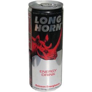 Long horn énergy drink 6x25cl