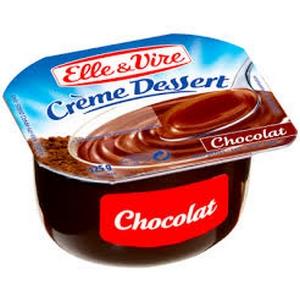 Elle et vire dessert chocolat 4x125g