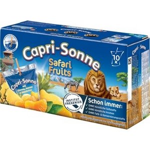 Capri-sonne safari 10x20cl