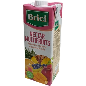 Brici nectar multifruits brique 1l