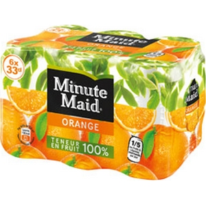 Minute Maid orange 6x33cl