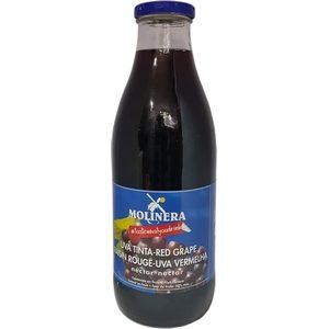 Molinéra nectar raisin rouge bouteille 1l