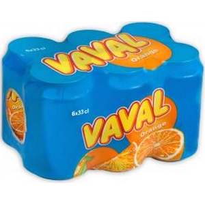 Vaval orange 6x33cl