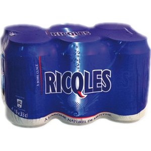 Ricqlès menthe 6x33cl