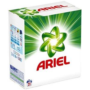 Lessive en poudre ariel vert original 21 doses 1365g