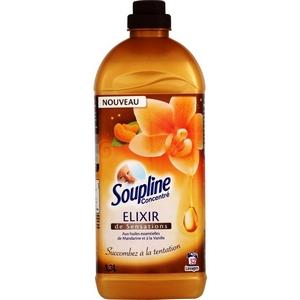 Soupline élixir huiles essentielles de mandarine et vanille 1,3l 52d
