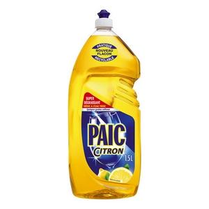 Liquide vaisselle paic citron 1,5l