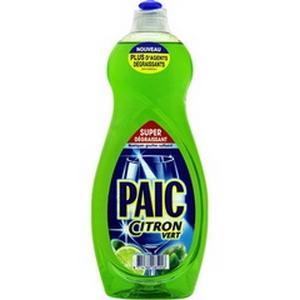 Liquide vaisselle paic citron vert 750ml