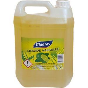 Madras liquide vaisselle citron 5l