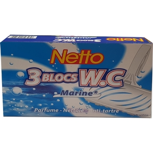 Netto blocs wc marine 3x40g