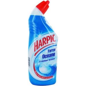 Gel wc harpic force océane ass. 750ml