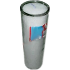 Veilleuse verre cylindre