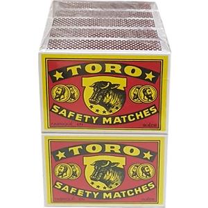 Allumettes Toro lot de 10
