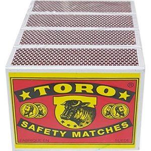 Allumettes Toro 2 étoiles lot de 4