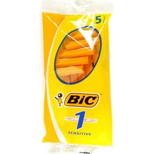 Bic rasoir orange 1 lame lot 5