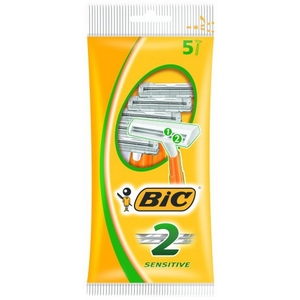 Bic rasoir orange 2 lames lot de 5