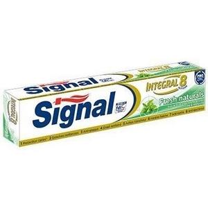 Dentifrice signal intégral 8 fresh naturals 75 ml