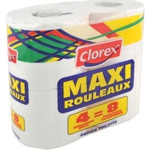 Chlorex papier toilette maxi 4=8