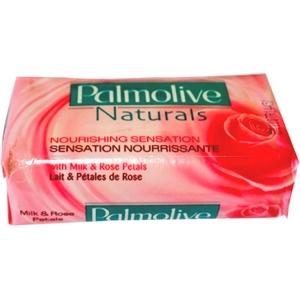 Savon de toilette palmolive lait et pétales de rose 90g